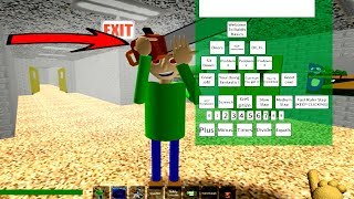 PLAY AS CRAZZY Baldi's (ROBLOX GAMEPLAY)