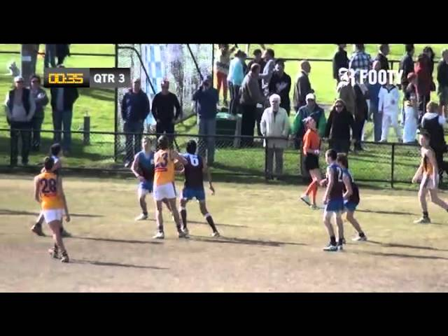 2012 SMJFL Grand Final Under 15 Div 3 - Ormond v East Sandringham