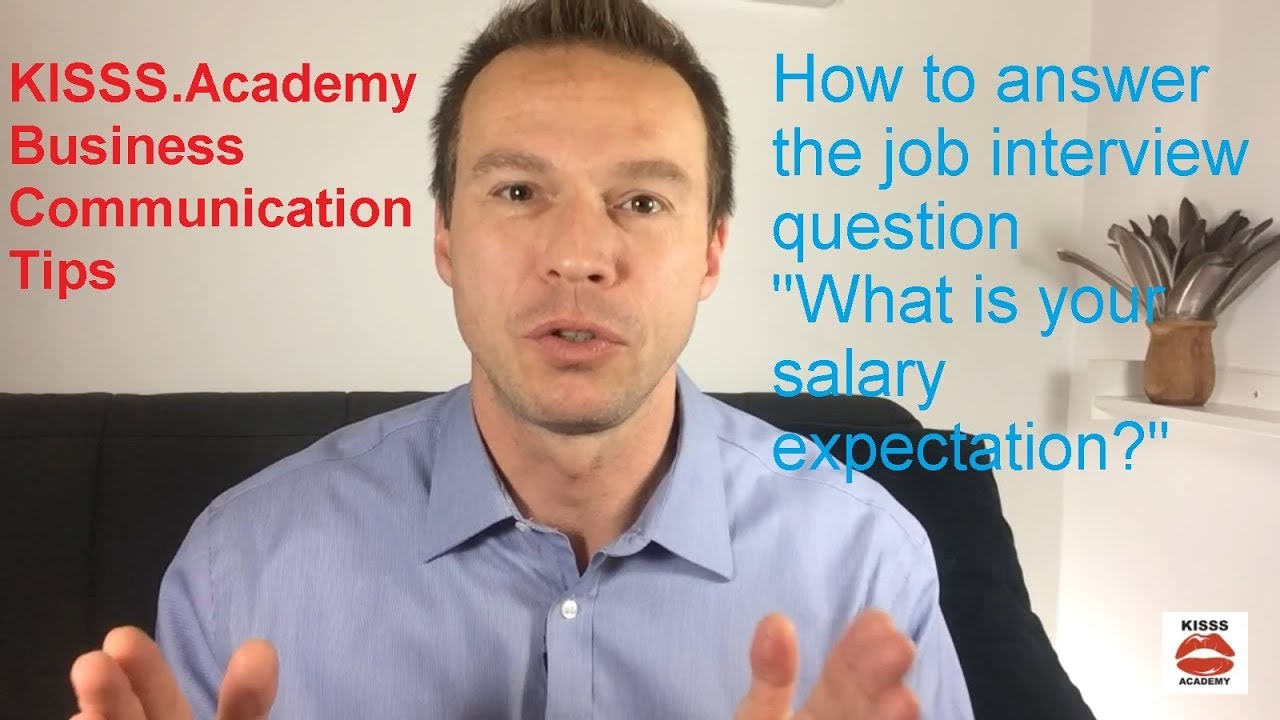Attractive How To Answer U0027What Is Your Salary Expectationu0027 Job Interview Question