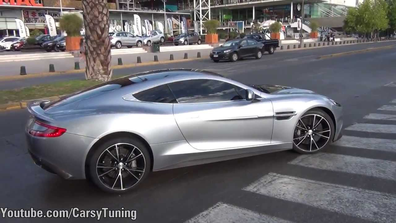 aston martin vanquish centenary edition - arrive and pov - youtube