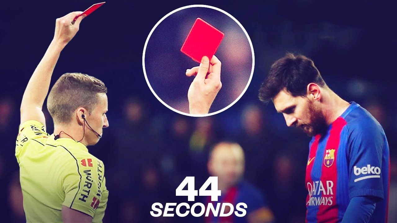 Messi sees red, rates 5/10 as Barcelona miss out on first trophy ...