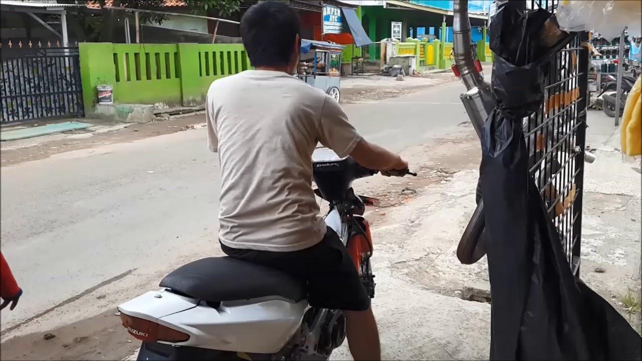 Knalpot Satria 2t Kolong Samping Kdx Original Jogja Youtube Racing Pdk R 120 2 Tak