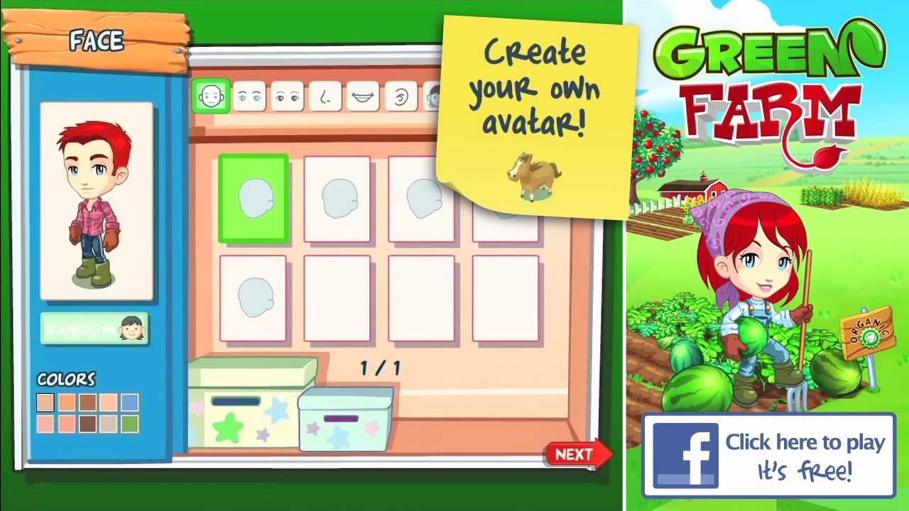 Green Farm -- Facebook Game trailer by Gameloft