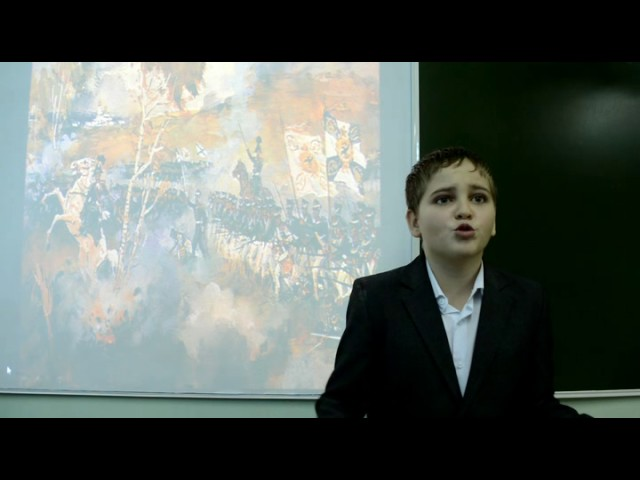 Изображение предпросмотра прочтения – ВадимПрохоров читает произведение «Бородино» М.Ю.Лермонтова