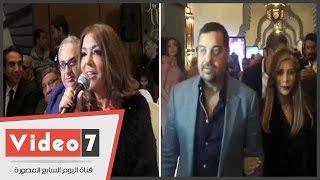 """أصالة وسميرة سعيد تفاجأن أنغام فى حفل الاحتفال بألبومها """"أحلام بريئة"""""""