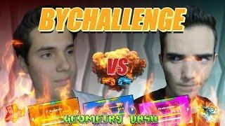 BYCRAFT VS GUITARHEROSTYLES - BYCHALLENGE (3 DEMONS ROBTOP) - Bycraftxx