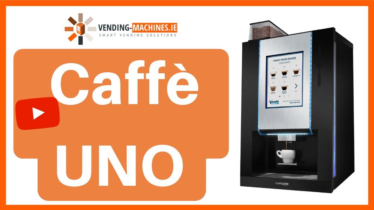 Caffè Uno - Coffee Vending Machine - YouTube