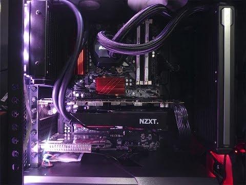 GTX 1070 Com Water Cooler - Colocando Suporte Gpu NZXT Kraken G10 + Corsair H55