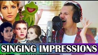 Singing Impressions (1 Man, 12 Pop Impressions) - Musical Impressions