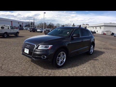 2016 Audi Q5 Denver, Aurora, Lakewood, Littleton, Fort Collins, CO 3779VP