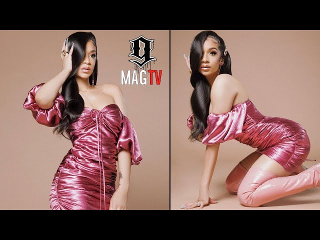 T.I.\'s Daughter Deyjah Returns To IG Looking Like Cardi B! 🙄