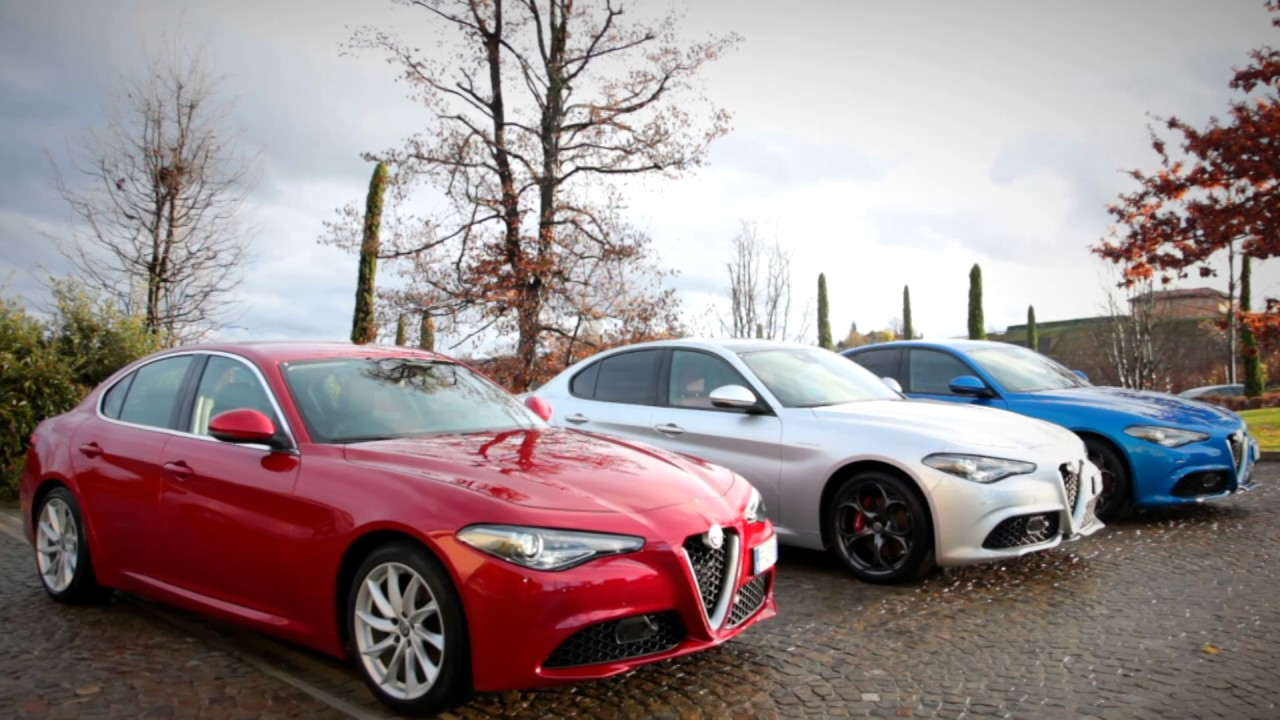 alfa romeo giulia veloce media drive youtube. Black Bedroom Furniture Sets. Home Design Ideas