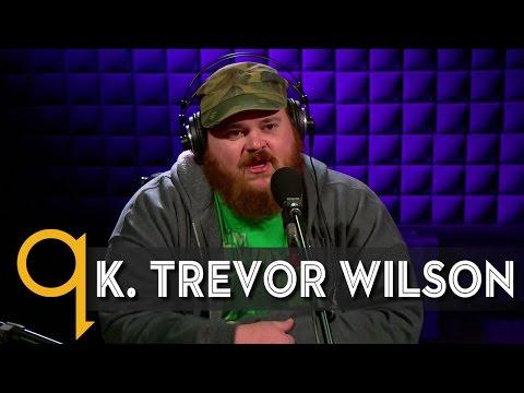 Letterkenny's K. Trevor Wilson in studio q