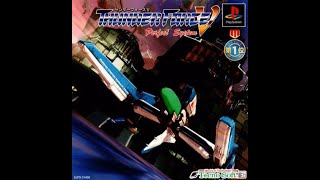 Thunder Force V 5 PS1 HD Full Run (long play) No Miss Hard Mode (Progressive)