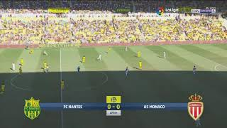 Nantes vs Monaco 1 - 3 HD 1080 (11/08/2018)