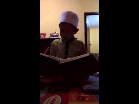 Anak kelas 2 SD membaca surat at taubah