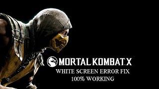 MORTAL COMBAT X MOBILE (WHITE SCREEN ERROR FIX)
