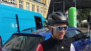 Jakob Egholm forud for første etape i PostNord Danmark Rundt 2019