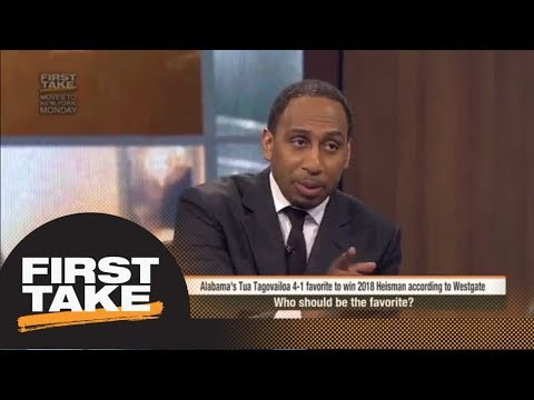Stephen A. says Wisconsin's Jonathan Taylor should win Heisman Trophy  | First Take | ESPN