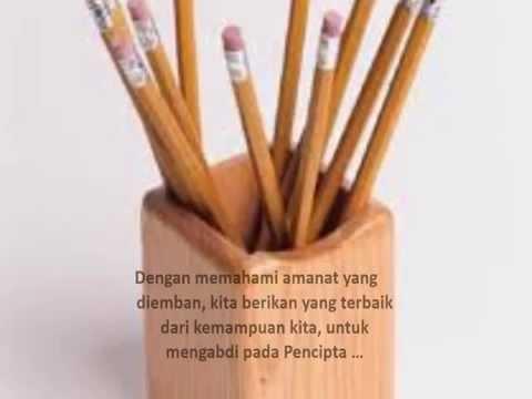 ERICK LAMBERTUS kisah sebatang Pensil