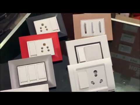 Modular Switches And Sockets For Home Wiring Range - Best Quality Switches For Home