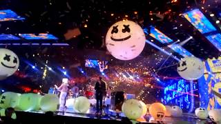 Marshmello & Anne-Marie «Friends» & Bastille «Happier» @ MTV EMA - Bizkaia Arena BEC, Barakaldo