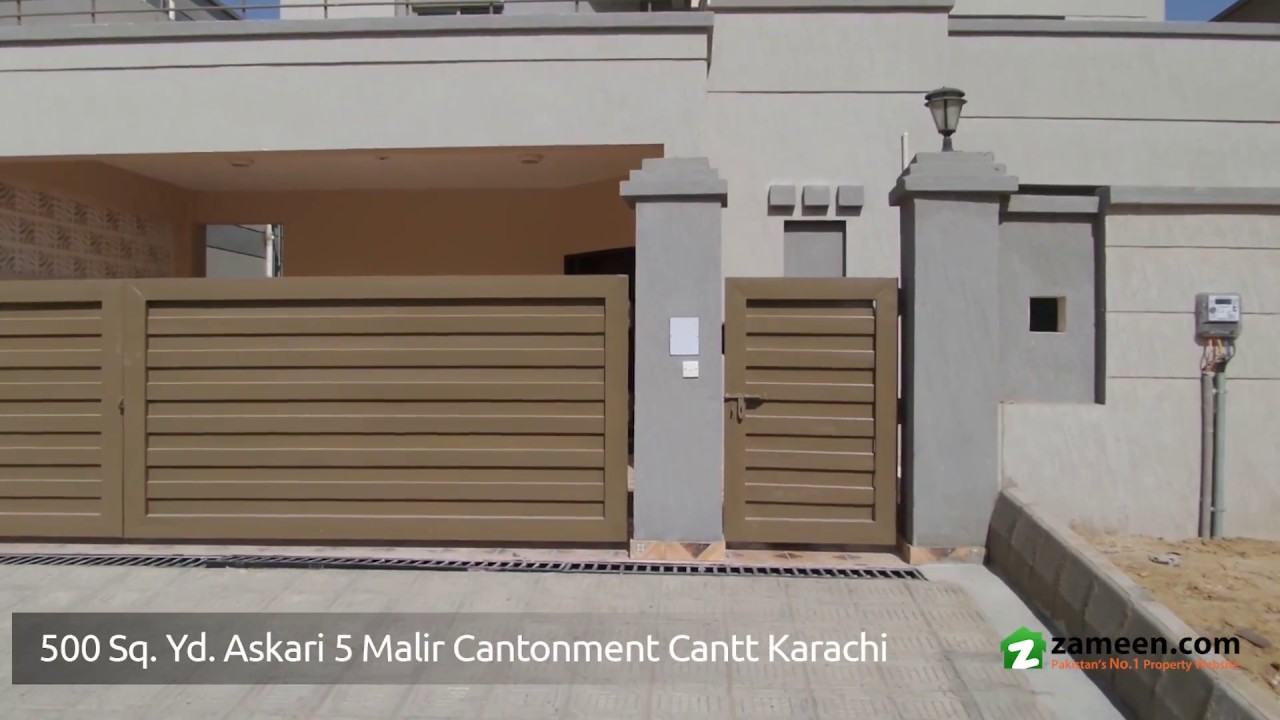 double storey bungalow is available for sale in askari 5 malir
