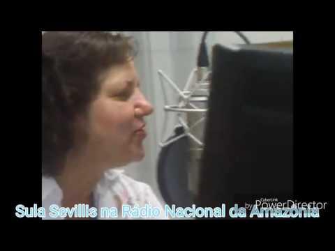 Sula Sevillis na Rádio Nacional da Amazônia  no Programa  Ponto de Encontro