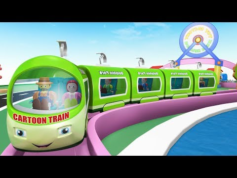 Cartoon Train - Kids Videos for Kids - Toy Factory Cartoon -