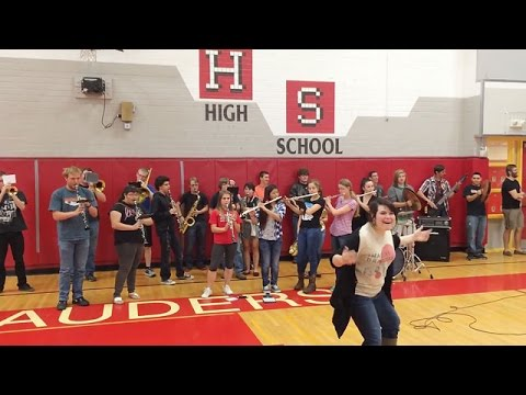 Mingus Union High School Fight Song - May 14, 2015