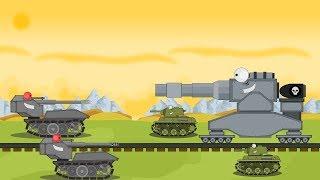 Дора против сил зла - Мультики про танки