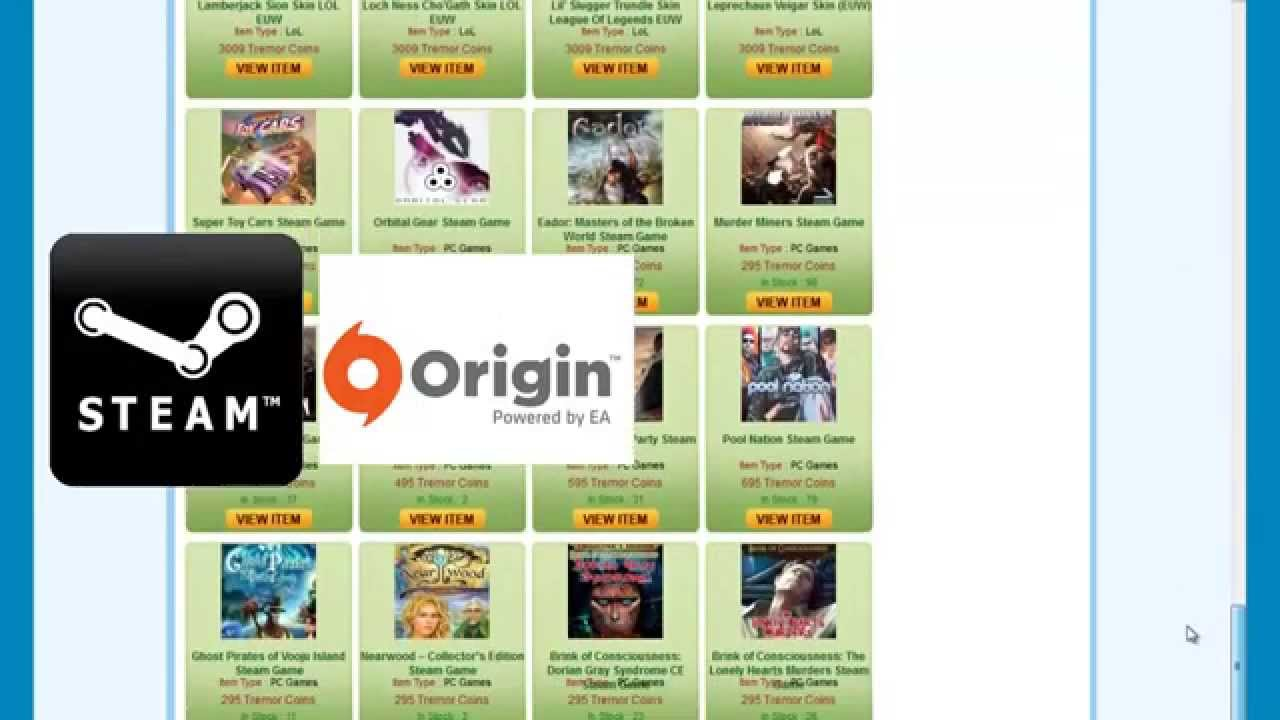 how to add origin games to steam