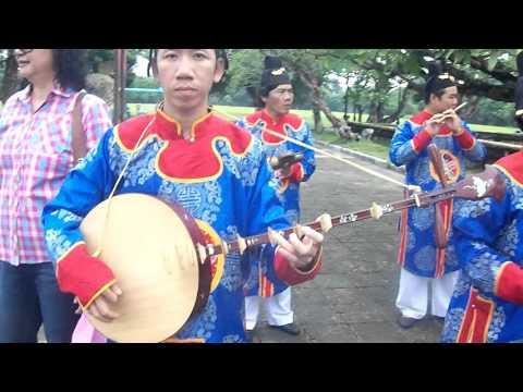 ดนตรีประจำชาติเวียดนาม #พระราชวังไดนอย