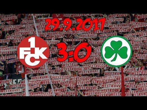 1. FC Kaiserslautern 3:0 SpVgg Greuther Fürth - 29.9.2017 - NA ENDLICH!!!