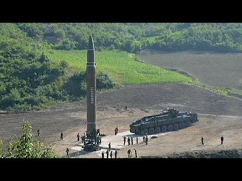 Corea del Norte lanza misil balístico intercontinental