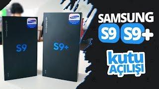 Samsung Galaxy S9 ve Galaxy S9+ Kutusundan Çıkıyor