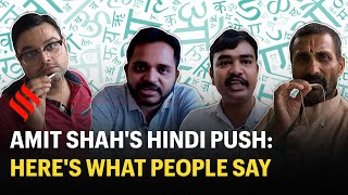 Amit Shah's Hindi push: Here's what people say on Shah's Statement