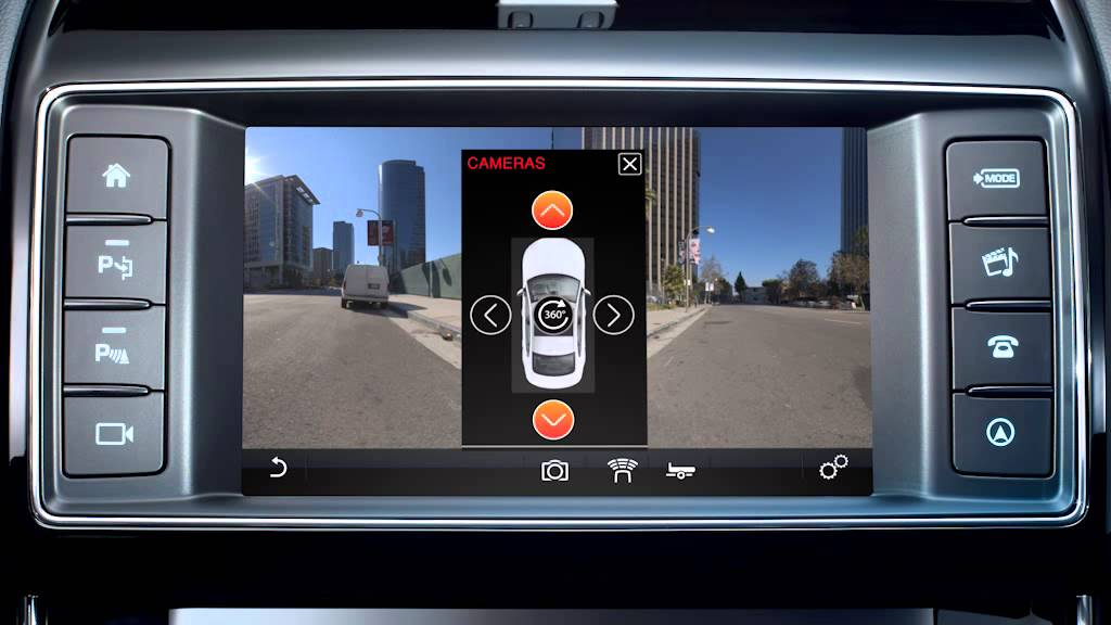 Jaguar Xe 2016 Single And Surround Camera System Youtube