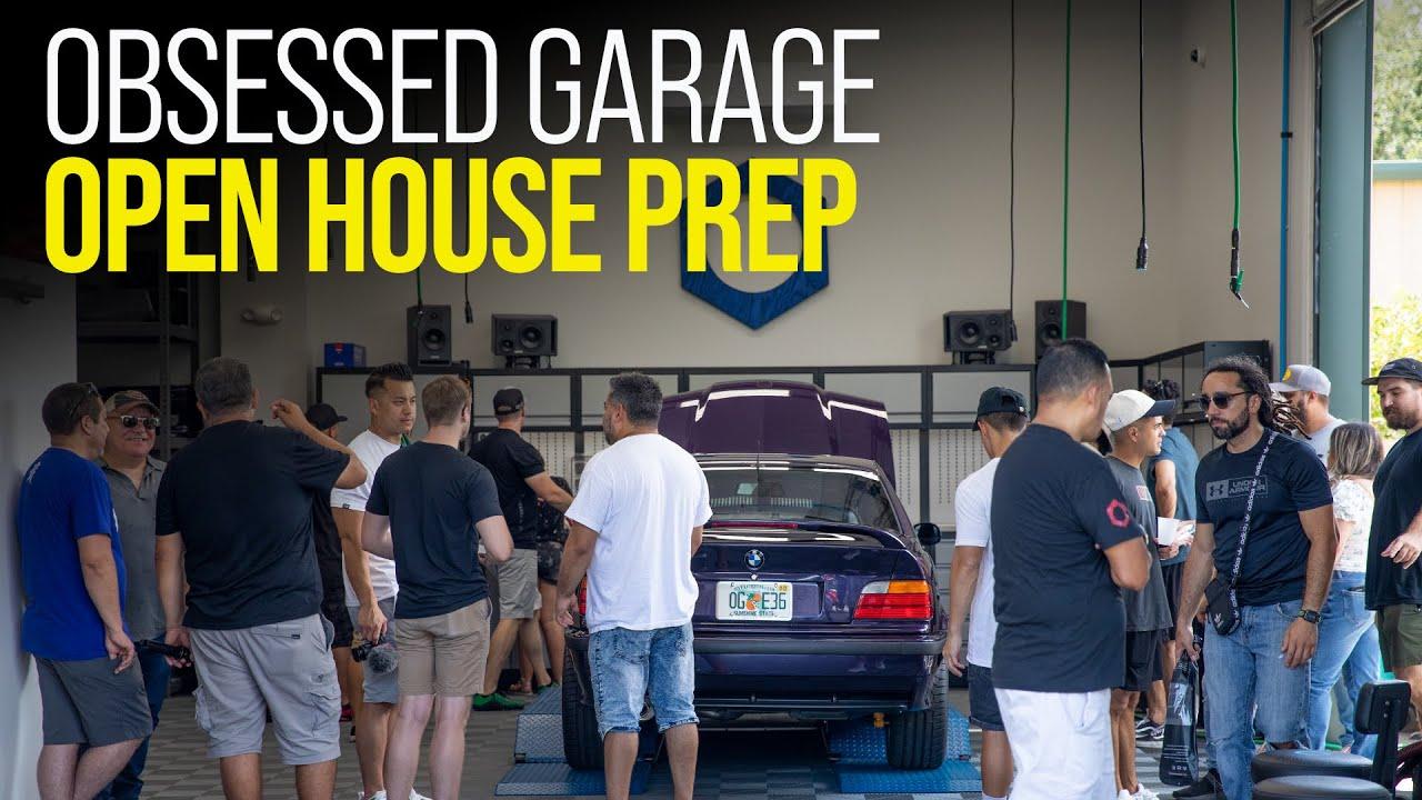 Preparing for OG Open House Vlog
