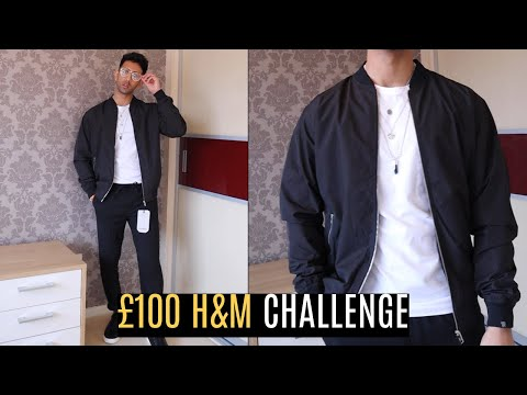 £100 H&M Challenge | Cheap Outfit | Mens Fashion