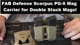 FAB Defense PG-9 Double Stack Mag Carrier Review!