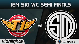 SKT vs TSM Highlights Game 1 IEM 10 Katowice World Championship Semi Finals SK Telecom vs Team Solo