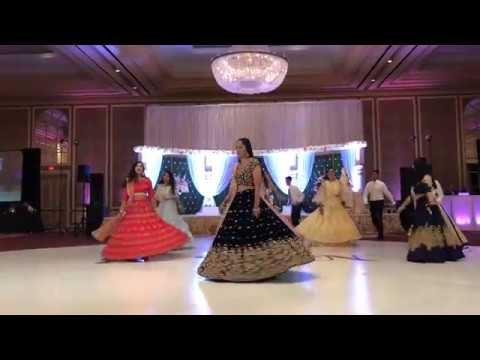 Indian Reception Dance Performance || Tum Jo Aaye || Akh Maare || Oonchi Hai Building ||