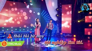 KARAOKE Trái Tim Rơi Lệ - PHƯƠNG TỬ LONG ft TÂM DUYÊN | OFFICIAL MUSIC VIDEO