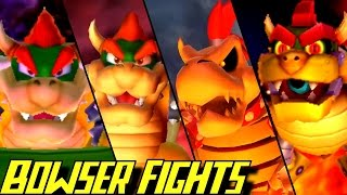 Evolution of Bowser Battles in Mario Party Games (1998-2016)