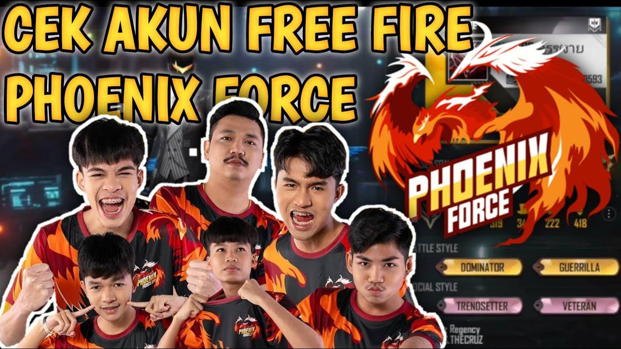 CEK AKUN , ID & KD PHOENIX FORCE FFWS 2021 (EVOS THAI) JUARA 1 FREE FIRE WORLD SERIES 2021 || FFWS