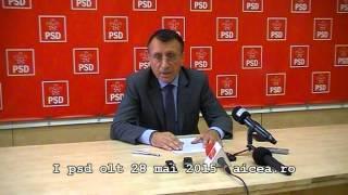 Paul STĂNESCU, demisie din toate funcțiile politice p1din2 28mai2015