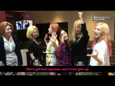 ☆ SNSD @ Sunny's FM Date - GIRLS (with English Translation)