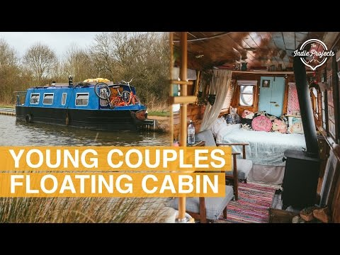 Tiny House Boat Tour - English Narrowboat