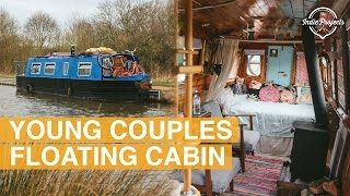 Tiny House Boat Tour - English Narrowboat